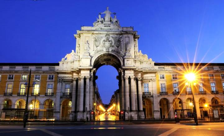 Lisbona - Piazza del Commercio